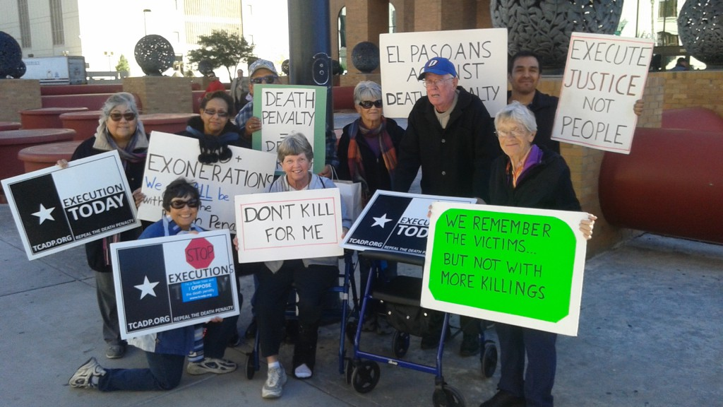 execution protest 11-18-15